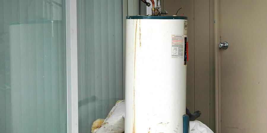 water heater leaks white water heater